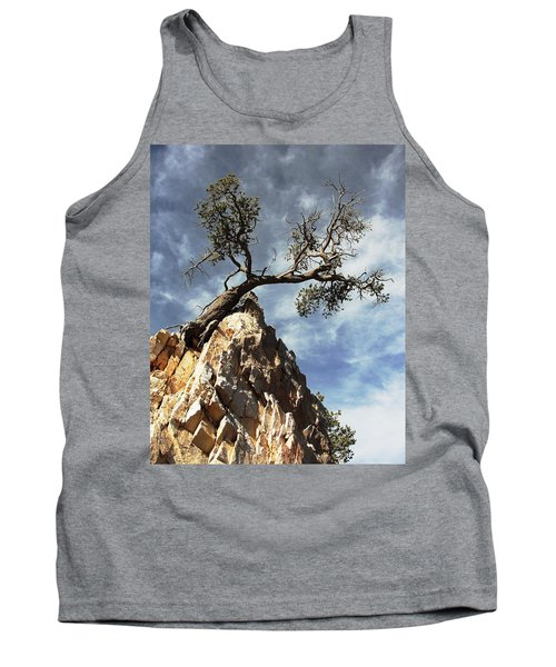Tank Top featuring the photograph Hung Over by Natalie Ortiz