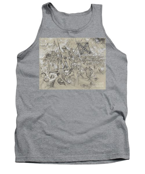 Over The Angle Tank Top by Scott and Dixie Wiley