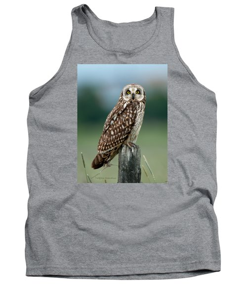 Owl See You Tank Top by Torbjorn Swenelius