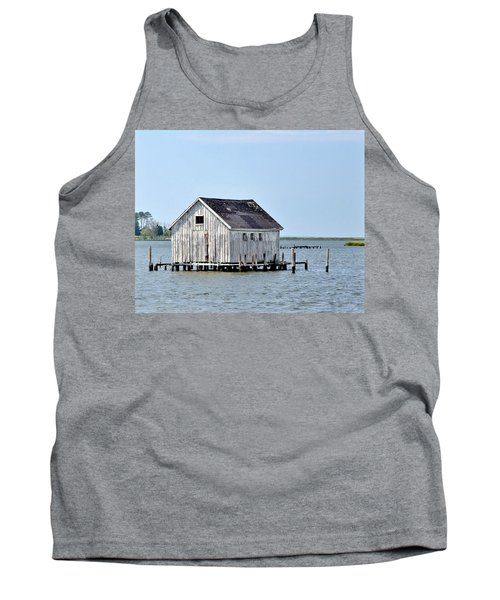 Oyster Shucking Shed Tank Top