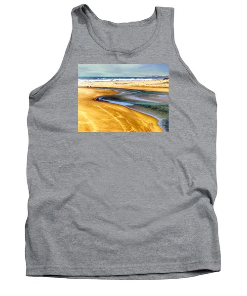 Pacific Ocean Beach Santa Barbara Tank Top