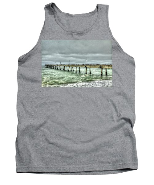 Pacifica Municipal Fishing Pier 7 Tank Top