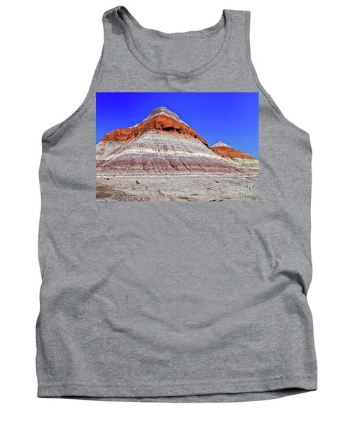 Tank Top featuring the photograph Painted Desert National Park by Bob and Nadine Johnston