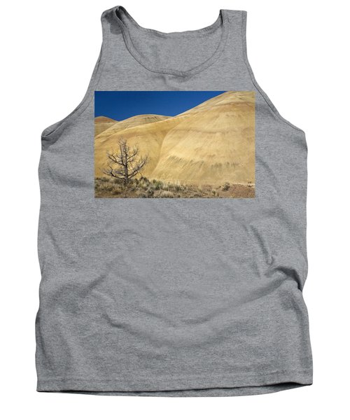 Tank Top featuring the photograph Painted Hills Tree by Sonya Lang