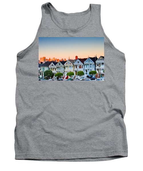 Painted Ladies Tank Top by Bill Gallagher