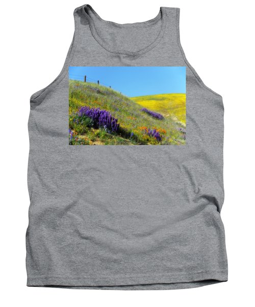 Painted With Wildflowers Tank Top