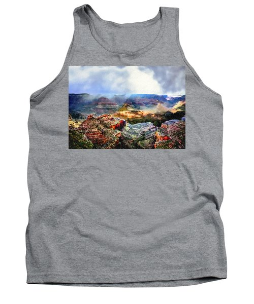 Painting The Grand Canyon Tank Top