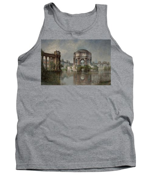 Palace Of Fine Arts And The Lagoon Tank Top