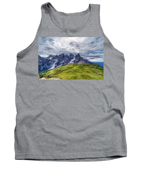 Tank Top featuring the photograph Pale San Martino - Hdr by Antonio Scarpi