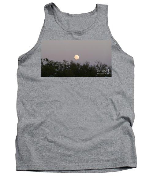 Panoramic New Orleans Moon Rising Tank Top