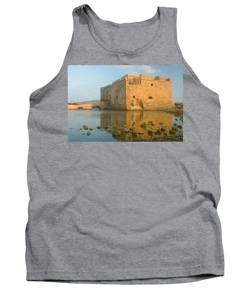 Paphos Harbour Castle Tank Top