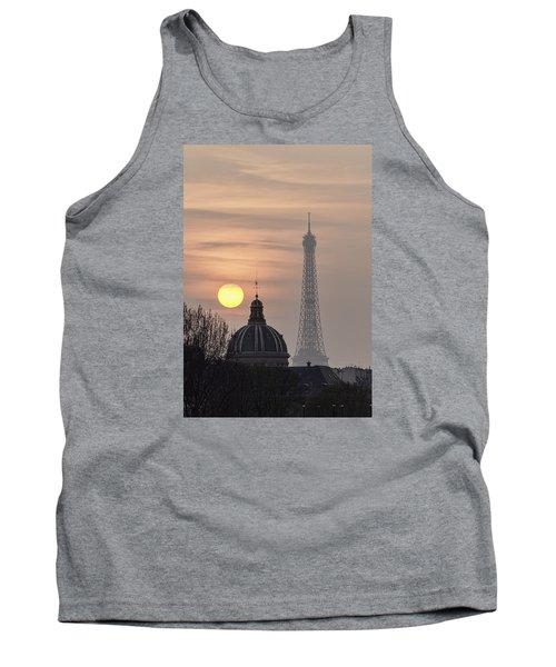 Paris Sunset I Tank Top