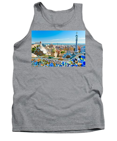 Park Guell - Barcelona Tank Top