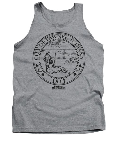 Parks And Rec - Pawnee Seal Tank Top