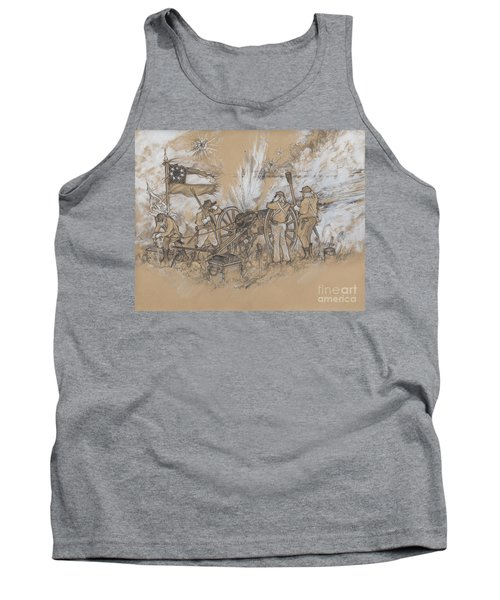 Parrott Answer Tank Top by Scott and Dixie Wiley