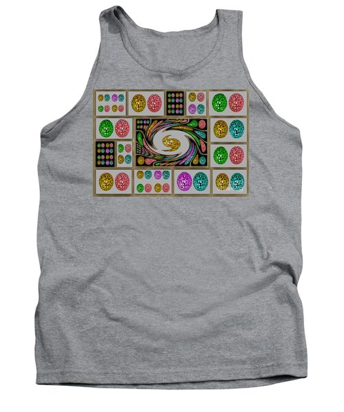 Party Eggs Tank Top