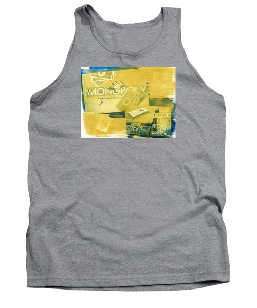 Pass Go Tank Top by Caitlyn  Grasso