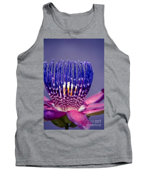 Passiflora Alata - Ruby Star - Ouvaca - Fragrant Granadilla -  Winged-stem Passion Flower Tank Top