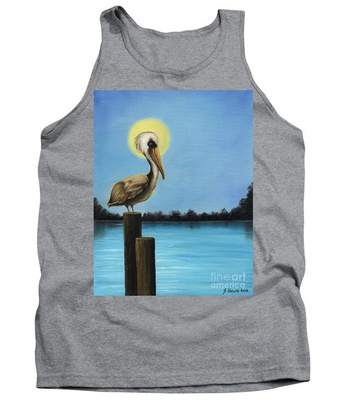 Patiently Fishing Tank Top