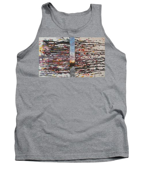 Tank Top featuring the painting Pause by Thomasina Durkay