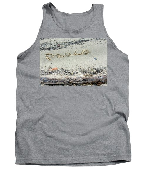 Peace On Earth Tank Top by Melinda Fawver