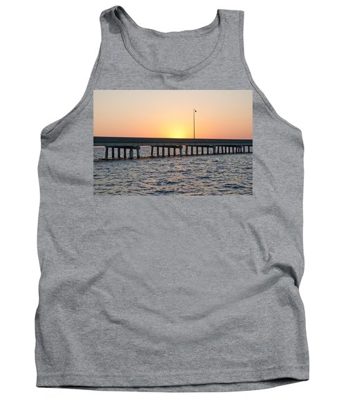 Peace River Bridge - Punta Gorda Florida Tank Top