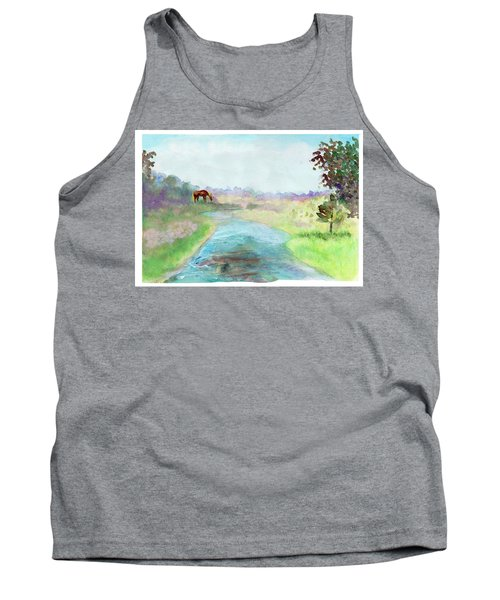 Peaceful Day Tank Top by C Sitton