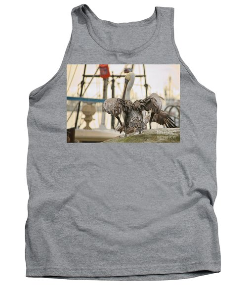 Pelican Strut Tank Top