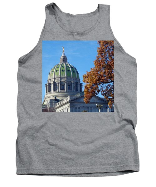 Pennsylvania Capitol Building Tank Top by Joseph Skompski