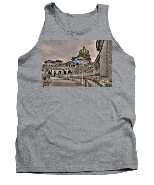 Pennsylvania State Capital Tank Top by Lois Bryan