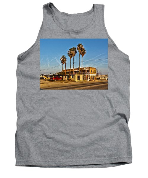 Tank Top featuring the photograph Penny Bar Mckittrick California by Lanita Williams