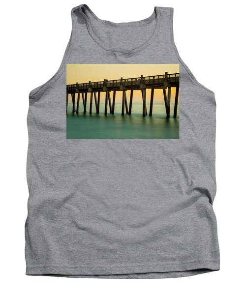 Pensacola Beach Fishing Pier Tank Top