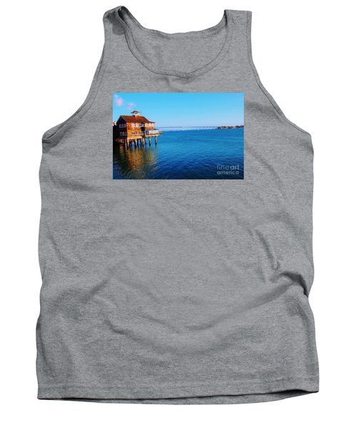 Tank Top featuring the photograph Perfect Day In San Diego by Jasna Gopic