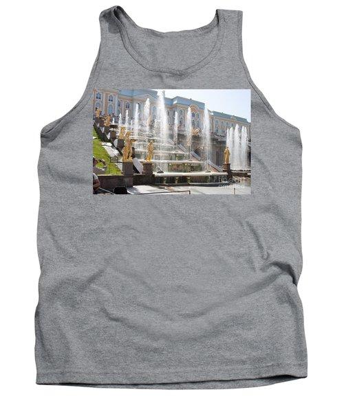 Peterhof Palace Fountains Tank Top