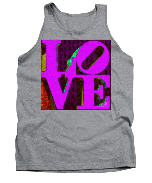Philadelphia Love - Painterly V2 Tank Top
