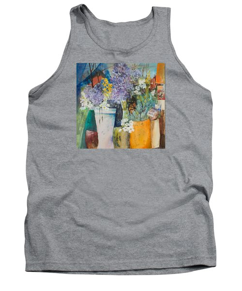 Picture Puzzle Tank Top by Lee Beuther