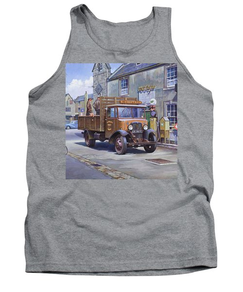 Piggy Goes To Market Tank Top by Mike  Jeffries