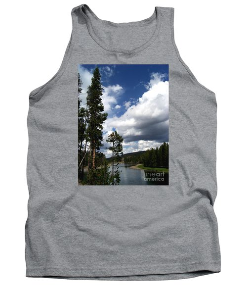 Pine On The Yellowstone River Tank Top