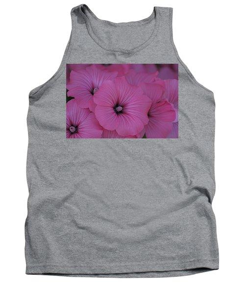 Pink Petunia Tank Top