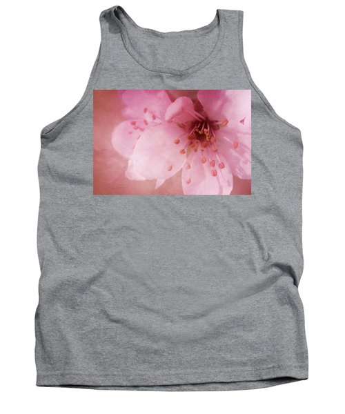 Pink Spring Blossom Tank Top