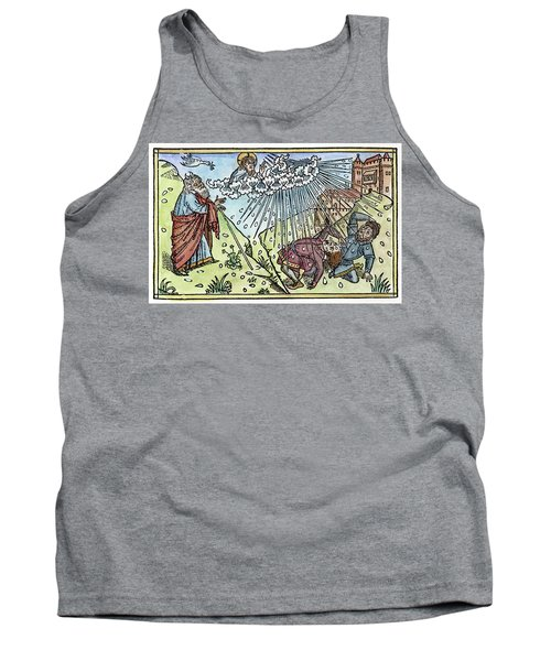 Tank Top featuring the painting Plague Of Hail by Granger