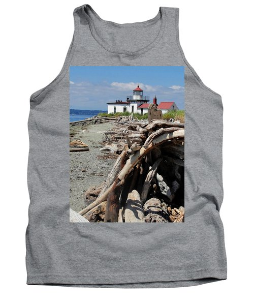 Tank Top featuring the photograph Point In View by Natalie Ortiz