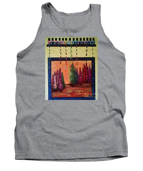 Polished Forest Tank Top by Jasna Gopic