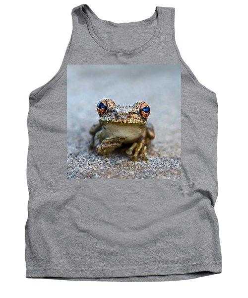 Pondering Frog Tank Top