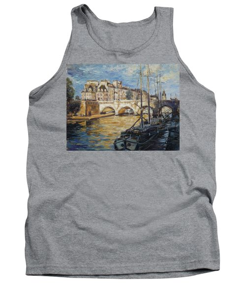 Pont Neuf Paris Tank Top