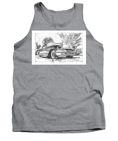 Pontiac Bonneville Study Tank Top