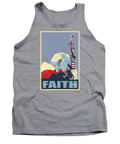 Pope John Paul II Tank Top