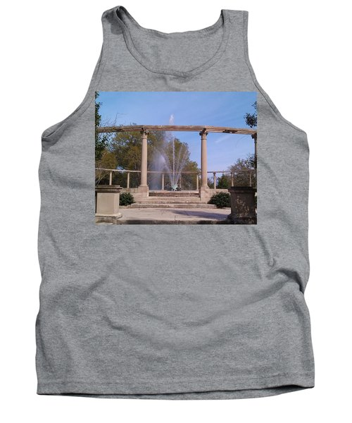 Popp Fountain New Orleans City Park Tank Top