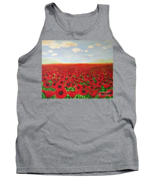 Poppy Fields Tank Top