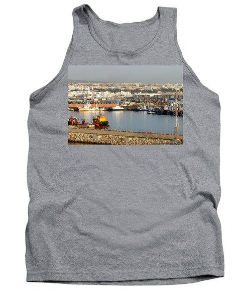 Port Of Agadir Morocco 1 Tank Top